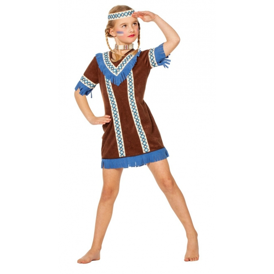 Indianen meisje kostuum