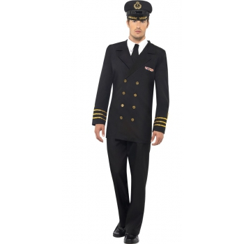 Kapitein kleding voor heren