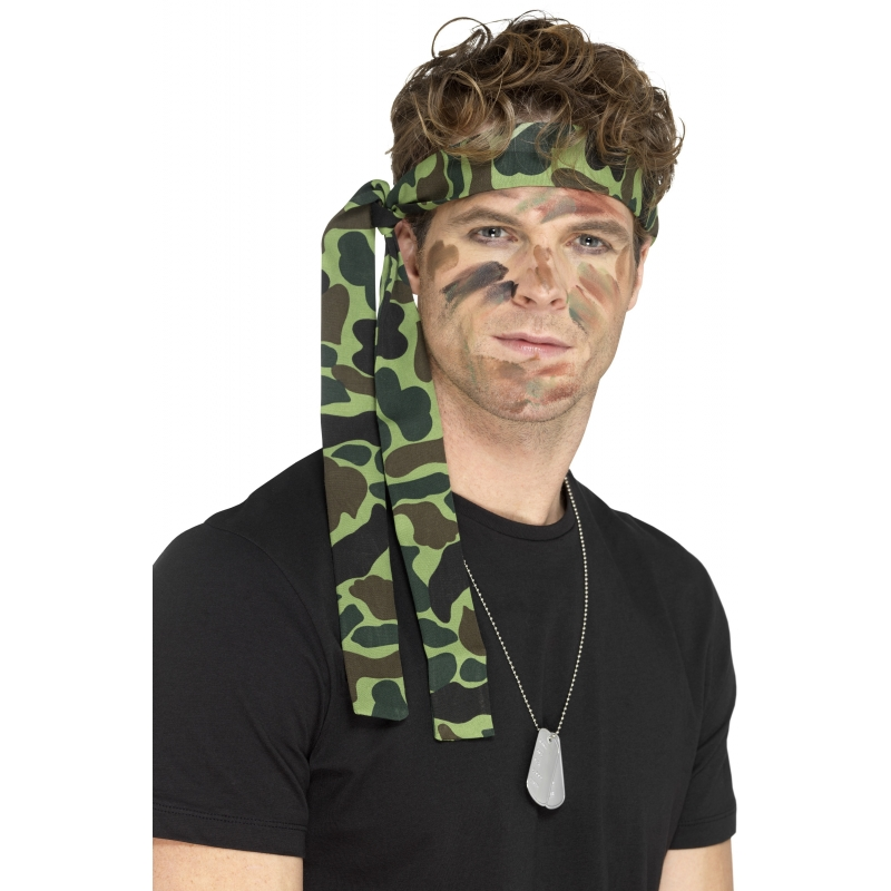 Leger hoofdband 150 cm