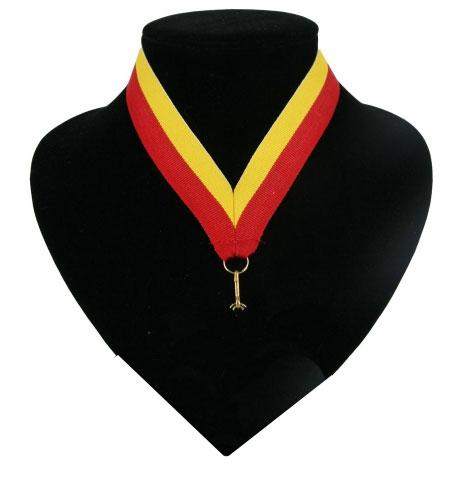 Lint rood en geel