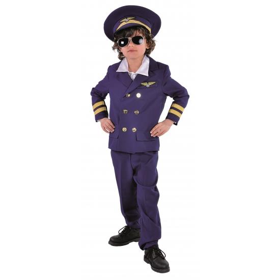 Luchtvaart kinder kostuum piloot