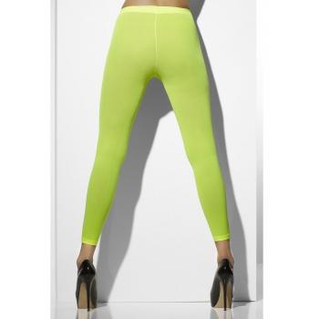 Neon groene carnaval legging