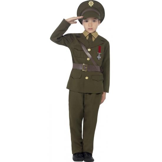 Officier outfit voor kinderen
