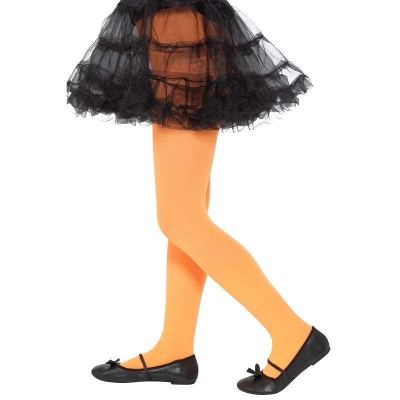 Oranje legging voor kinderen 6-12 jaar