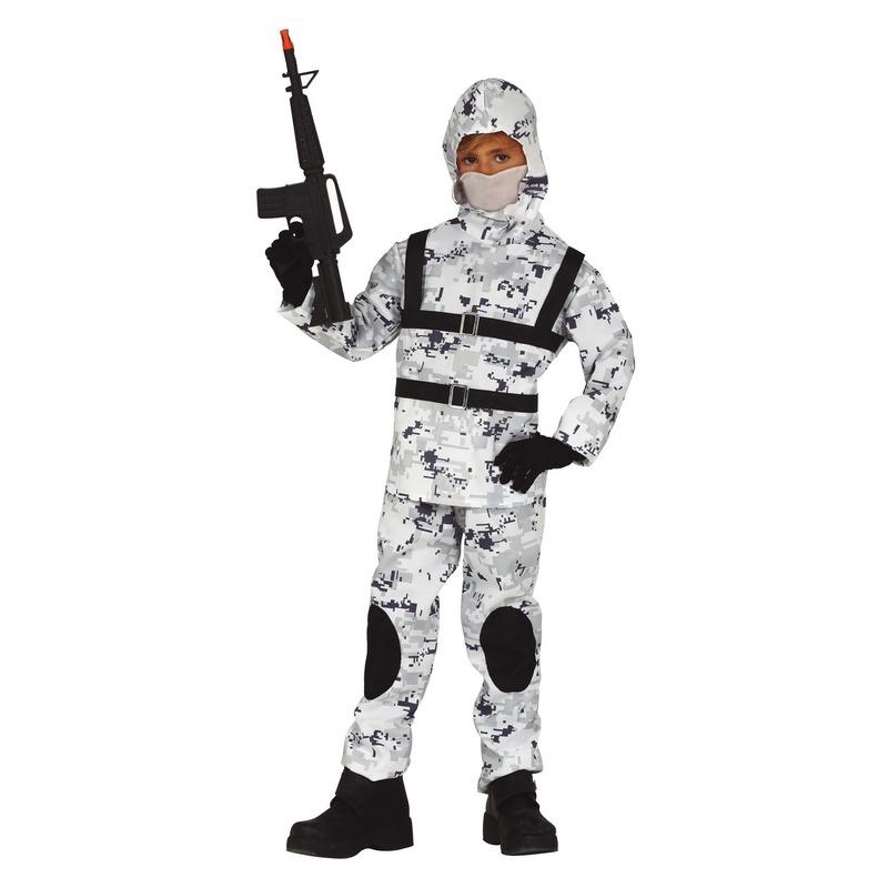 Soldaat special forces verkleed kostuum voor jongens
