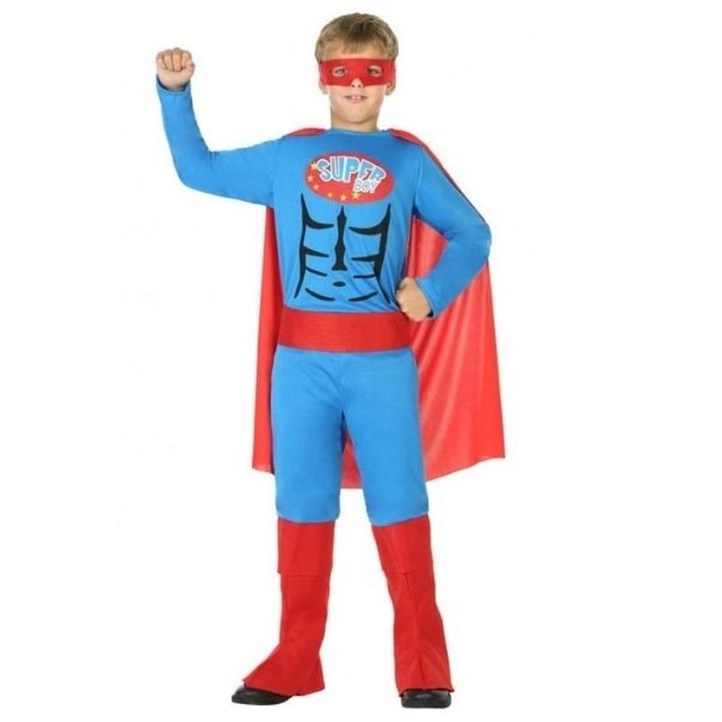 Superheld pak/verkleed kostuum voor jongens