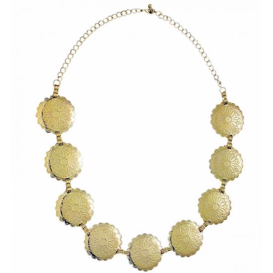 Verkleed Romeinse ketting goud