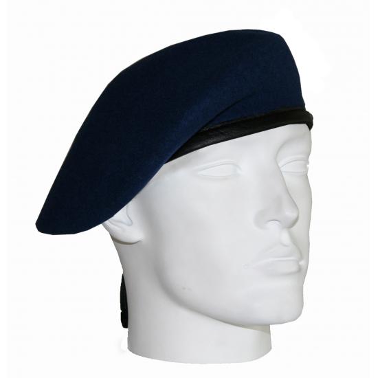 Verkleed Soldaten baret marine blauw