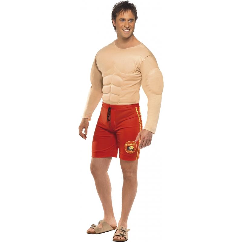 Verkleedkleding Baywatch kostuum heren