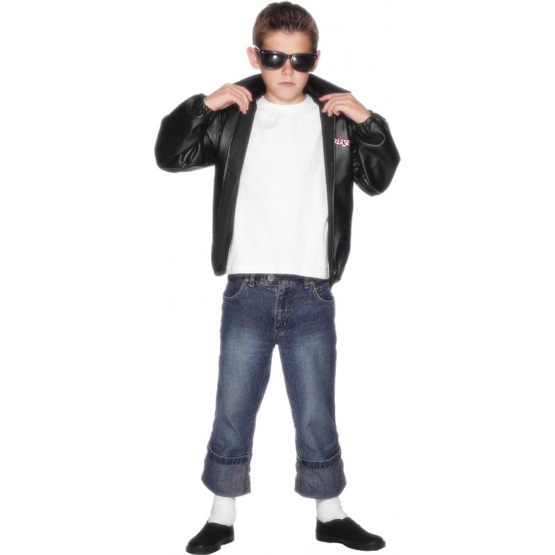 Verkleedkleding Grease jasje jongens