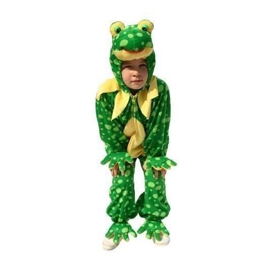 Verkleedkleding Kikker kostuum pluche kinderen