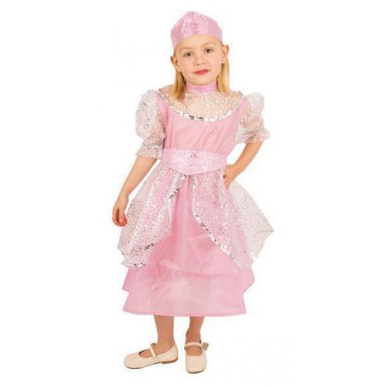 Verkleedkleding Roze prinsessenjurk kinderen