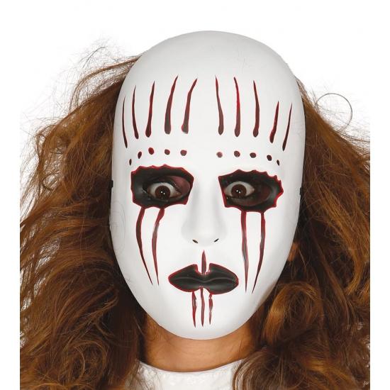 Voordelige horror mime masker voor halloween