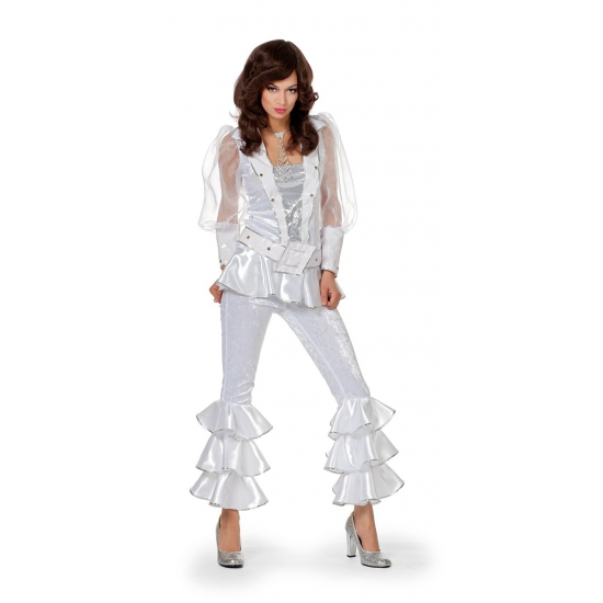 Wit discopak voor dames