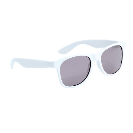 Witte kinder feest- en zonnebril wayfarer