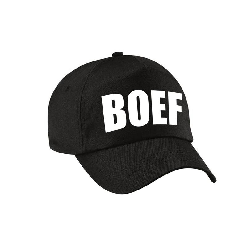 Zwarte Boef verkleed pet - cap voor volwassenen